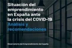 """Estudio """"Situación del emprendimiento en España ante la crisis de la COVID-19"""""""