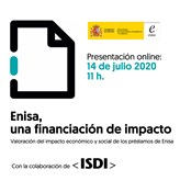 Enisa, una financiación de impacto