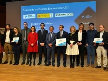 La empresa Cifra Educación gana los Premios EmprendedorXXI en Cantabria