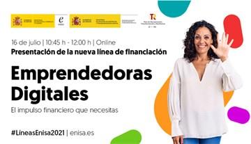Presentación nueva línea ENISA Emprendedoras Digitales