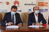 Firma de acuerdo entre Enisa y Enagás