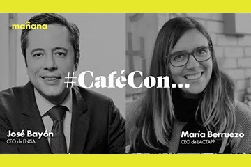 #CaféConMañana: María Berruezo y José Bayón