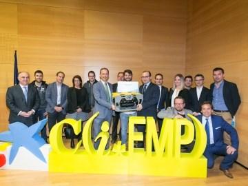 Nido Robotics SL gana los Premios EmprendedorXXI en la Región de Murcia
