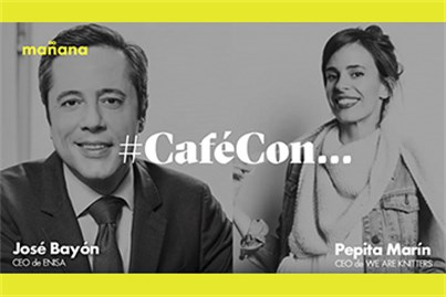 #CaféConMañana: Pepita Marín y José Bayón