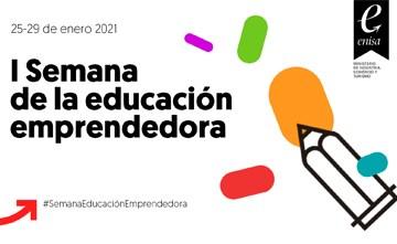 Enisa participa en la I Semana de la Educación Emprendedora